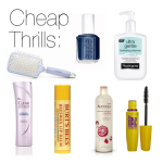Cheap Thrills: My Favorite Drugstore Beauty Products