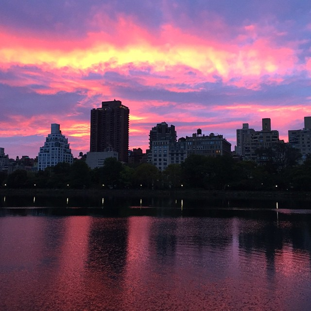sunrises in central park