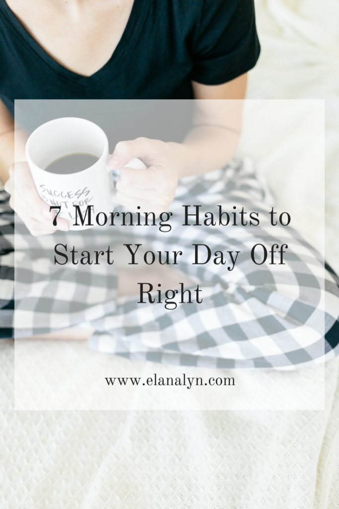 7 morning habits to start your day off right. Black Bedroom Furniture Sets. Home Design Ideas