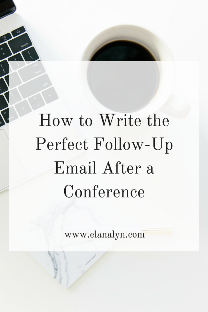 How to Write the Perfect Follow-Up Email After a Conference