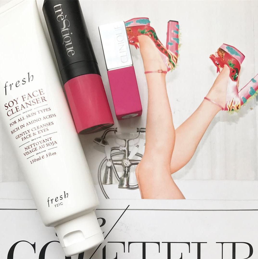 Elana Lyn's favorite beauty products featuring Fresh, Trestique, Clinique, and Bliss
